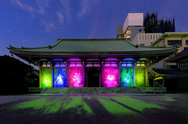《深緑の楽園―福岡》2019年、東長寺