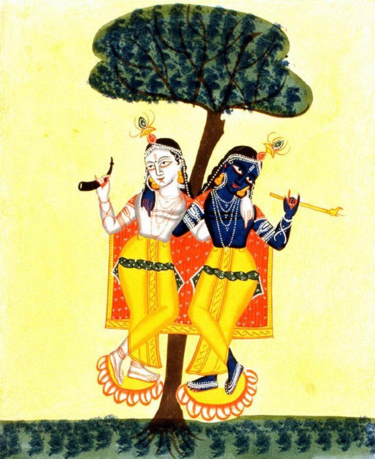 《クリシュナとバララーマ》19世紀後半